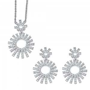 Beam Set Necklace and Earring