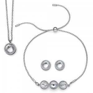 Joy Set Crystal Necklace,...