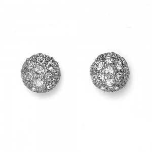 Post earring Ball