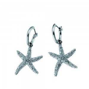 Post earring Starfish
