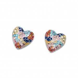 Post earring Gaudí Heart Pin