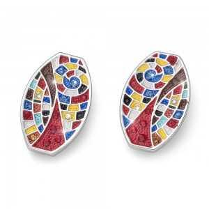 Post earring ArtOne