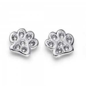 Post earring Pawy