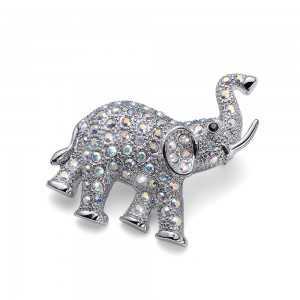 Brosche Elephant