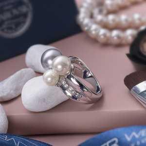 Ring Basic Pearl
