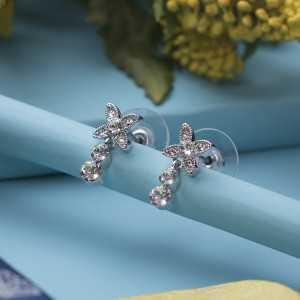 Post earring Fleur