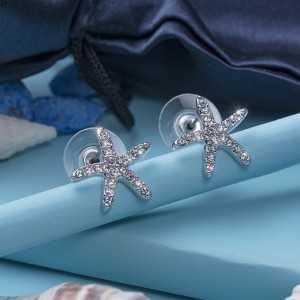 Post Earring Starfish pin