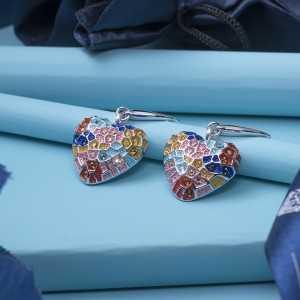 Earring Gaudí Heart