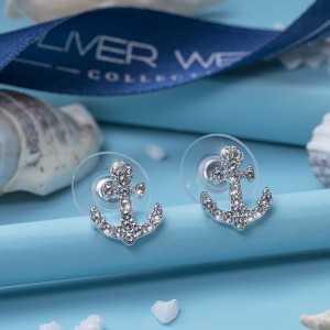 Post earring Anchor